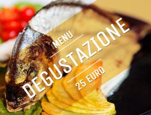 Menu degustazione di pesce