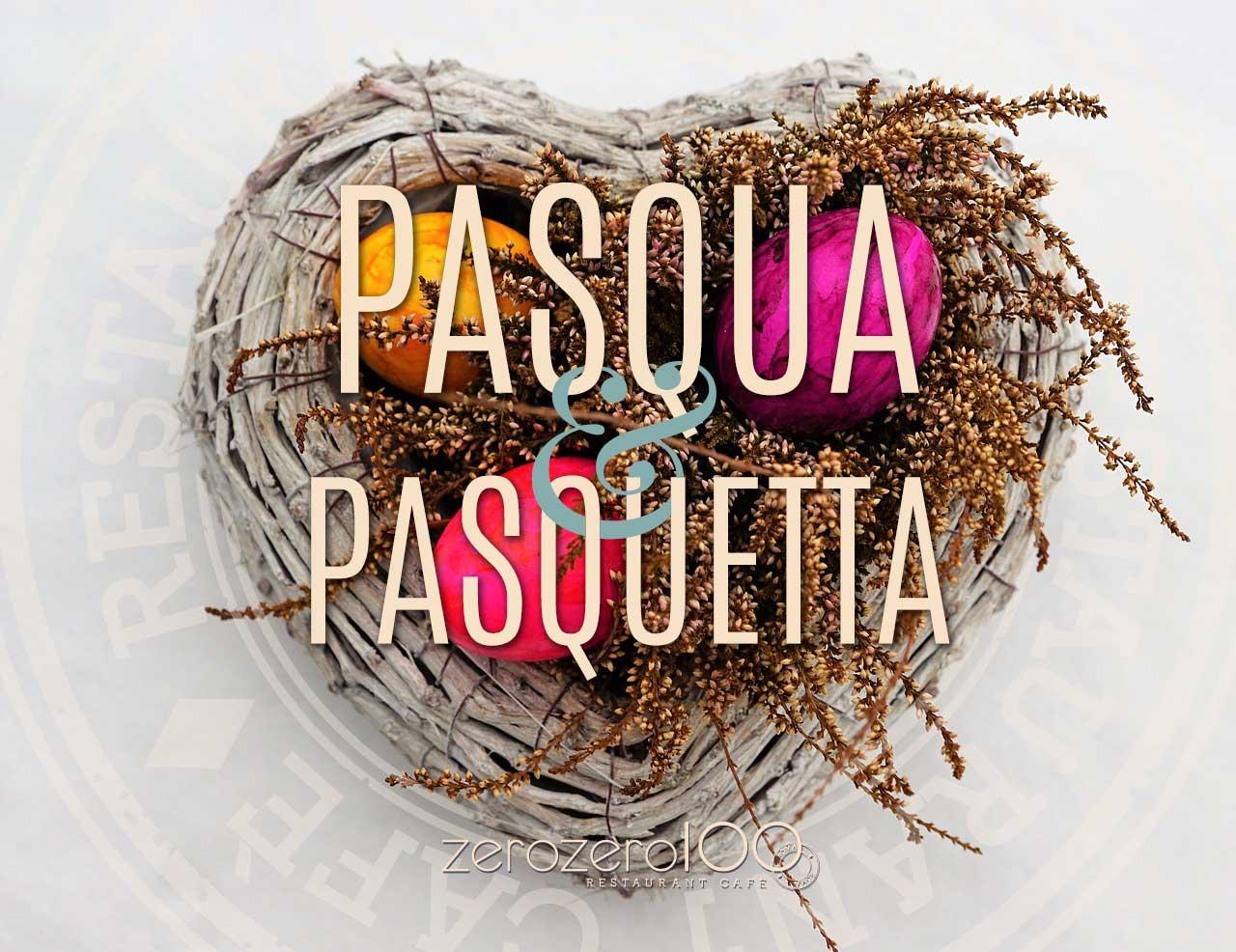 ristorante 00100 Pasqua e Pasquetta 2018